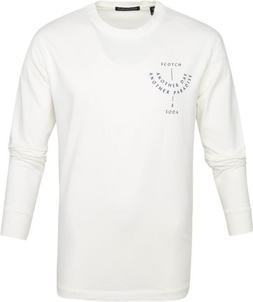 Scotch and Soda Longsleeve T Shirt Weiß