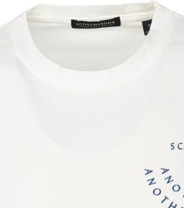Scotch and Soda Longsleeve T Shirt Weiß