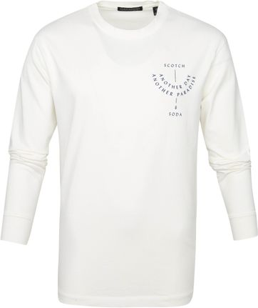 Scotch and Soda Longsleeve T Shirt White