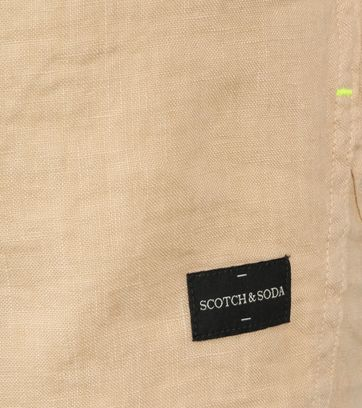 Scotch and Soda Overhemd Beige