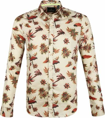 Scotch and Soda Overhemd Eilandprint