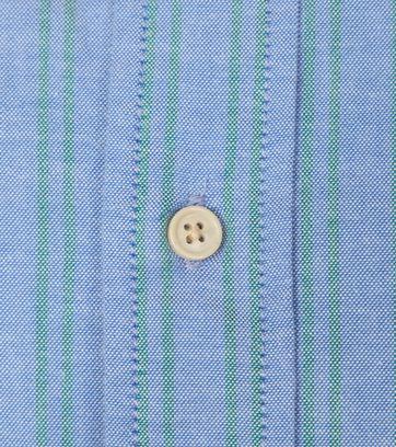 Scotch and Soda Overhemd Streep Blauw