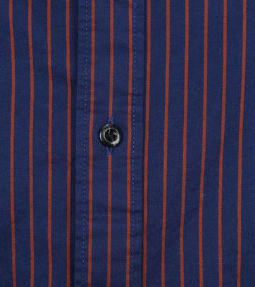 Scotch and Soda Overhemd Strepen Blauw