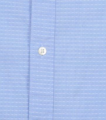 Scotch and Soda Overhemd Yarn-Dye Blauw