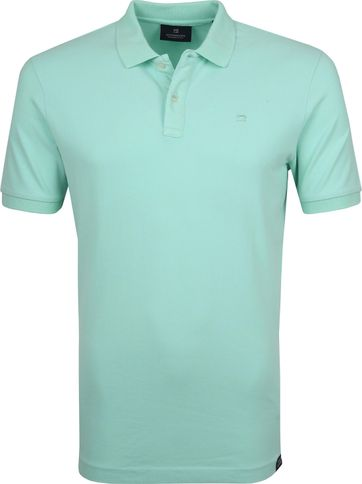 Scotch and Soda Polo Faded Mint
