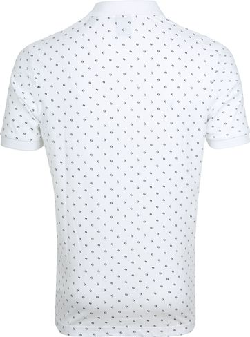 Scotch and Soda Polo Print Wit