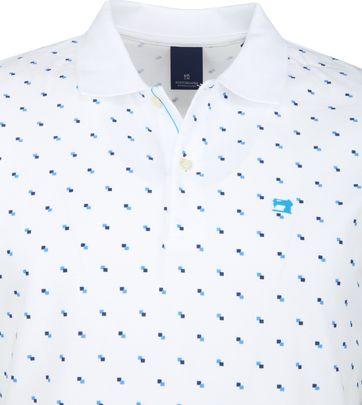 Scotch and Soda Polo Shirt Blocks White