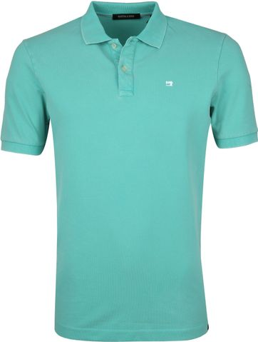 Scotch and Soda Polo Shirt Emerald