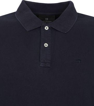 Scotch and Soda Polo Shirt Garment Dye Dark Blue