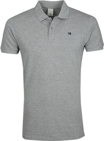 Scotch and Soda Polo Shirt Grey