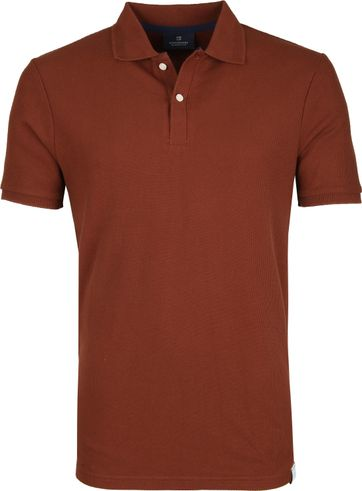 Scotch and Soda Polo Shirt Island Brown