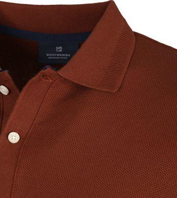 Scotch and Soda Polo Shirt Island Brown