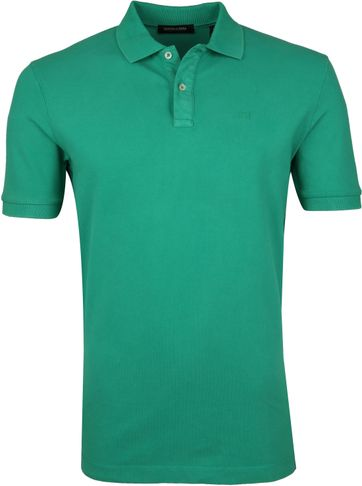 Scotch and Soda Polo Shirt Paradise Green