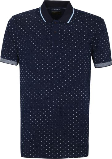 Scotch and Soda Polo Shirt Pique Navy