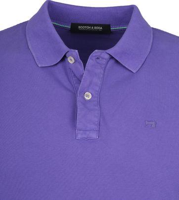 Scotch and Soda Polo Shirt Purple