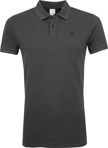 Scotch and Soda Poloshirt Dark Grey