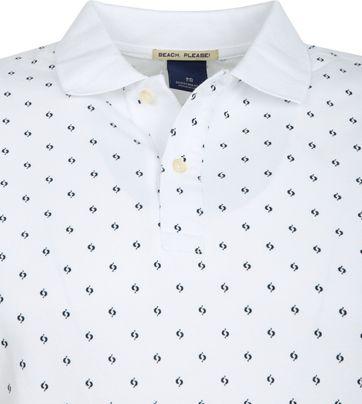 Scotch and Soda Poloshirt Design Weiß