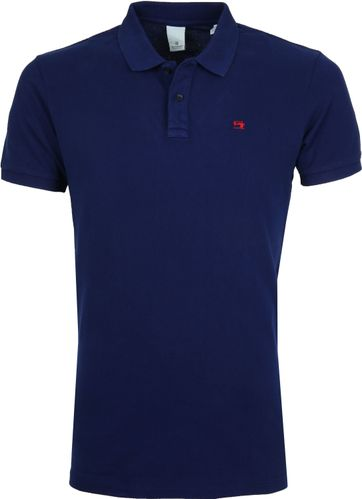 Scotch and Soda Poloshirt Dunkel Blau
