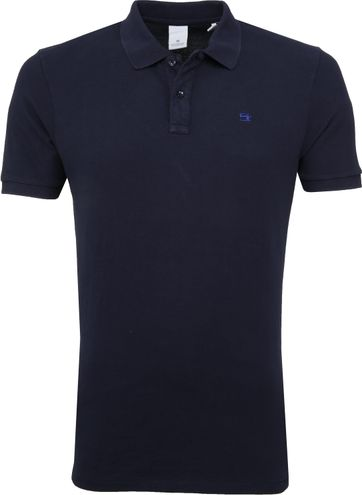 Scotch and Soda Poloshirt Dunkelblau