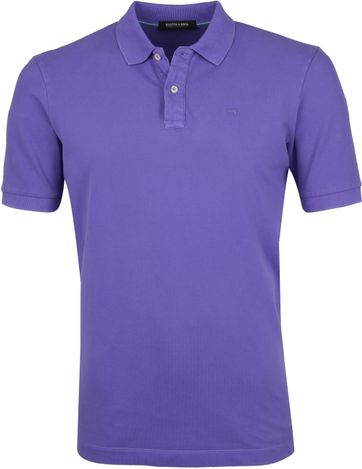 Scotch and Soda Poloshirt Purple