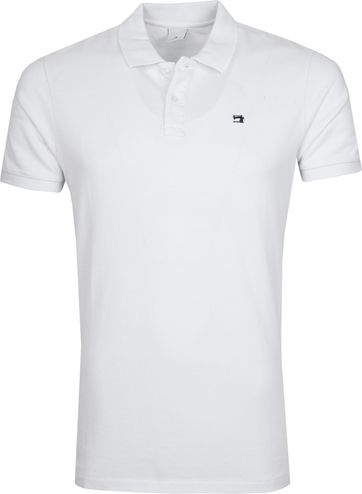 Scotch and Soda Poloshirt Weiß