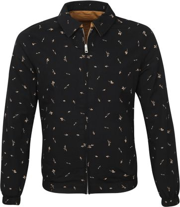 Scotch and Soda Reversible Jack Black Beige