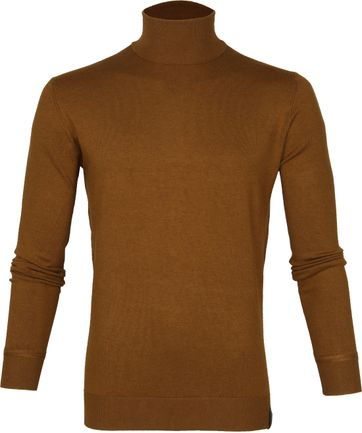 Scotch and Soda Rollkragenpullover Braun