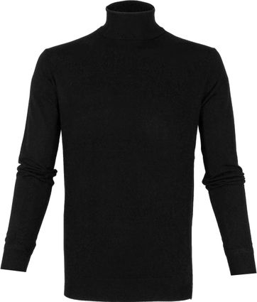 Scotch and Soda Rollkragenpullover Schwarz