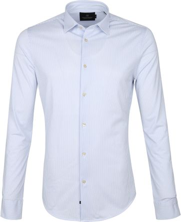 Scotch and Soda Shirt Light Blue Stripes
