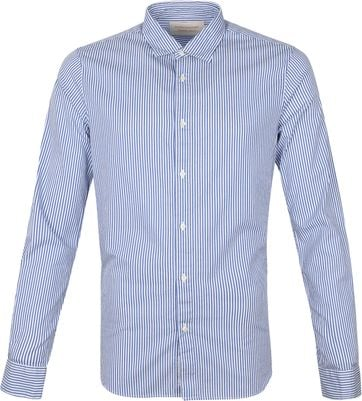 Scotch and Soda Shirt Striped Blue