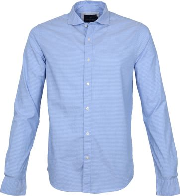 Scotch and Soda Shirt Yarn-Dye Blue