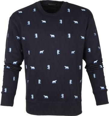 Scotch and Soda Sweater Eisbär Navy