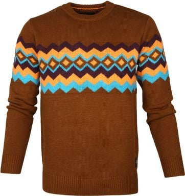 Scotch and Soda Sweater Monsanto Brown