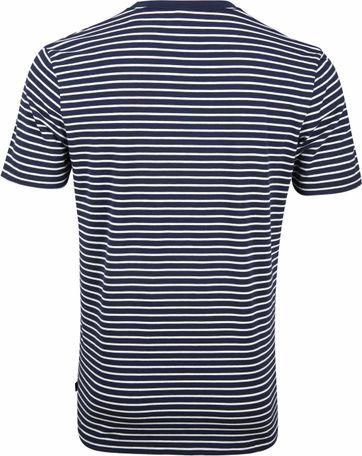 Scotch and Soda T-shirt Navy Strepen