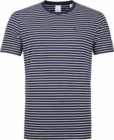 Scotch and Soda T-shirt Navy Stripes