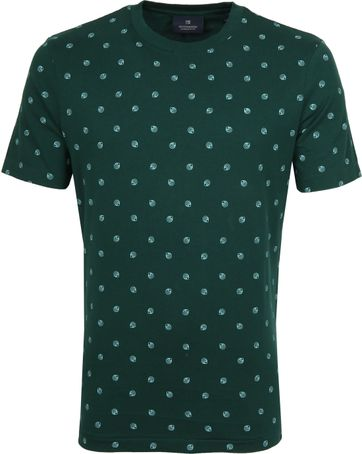 Scotch and Soda T-Shirt Print Dark Green