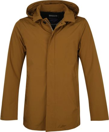 Scotch and Soda Trench Parka Jacket Ochre