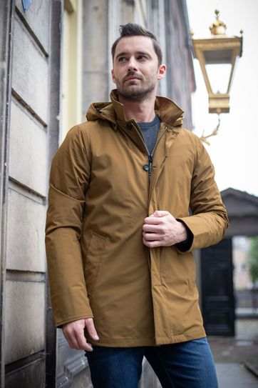 Scotch and Soda Trench Parka Jas Oker