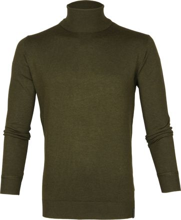 Scotch and Soda Turtleneck Dark Green