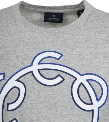 Scotch & Soda T-Shirt Logo Grey