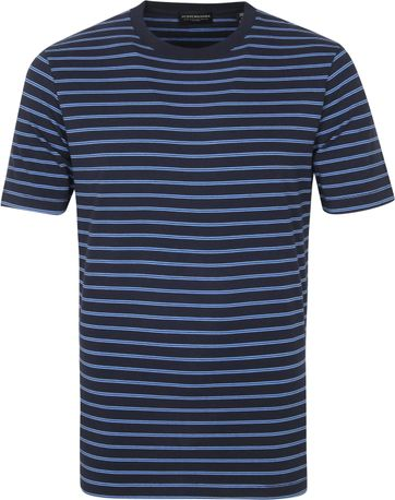 Scotch & Soda T Shirt Stripe Navy