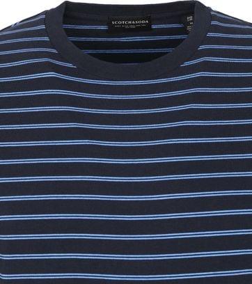 Scotch & Soda T Shirt Stripe Navy