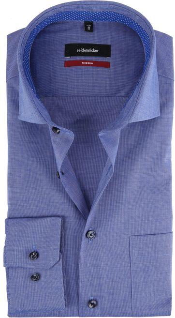 Seidensticker Hemd Blau