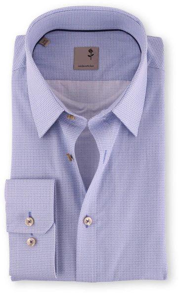 Seidensticker Hemd Bügelfrei Tailored Blue Print