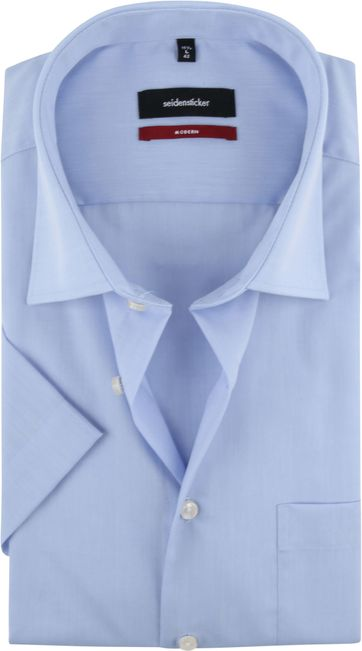 Seidensticker Hemd Hellblau 15