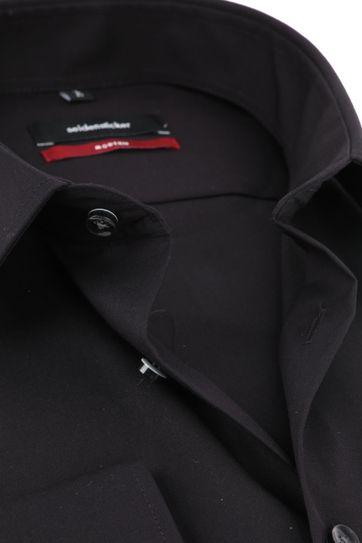 Seidensticker Hemd MF Zwart
