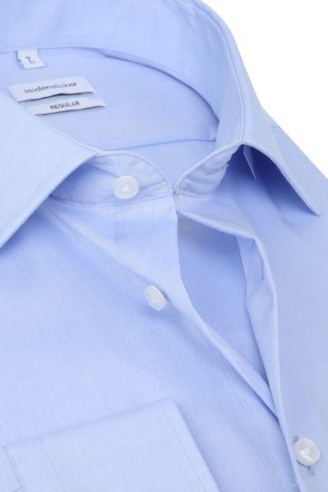 Seidensticker Hemd Modern Bügelfrei Hellblau