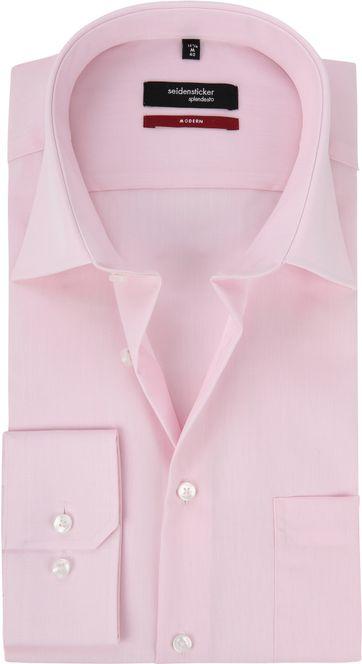 Seidensticker Hemd Modern Bügelfrei  Rosa