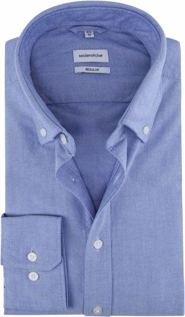 Seidensticker Hemd Regular-Fit Hellblau