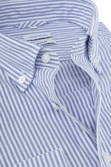Seidensticker Hemd RF Streep Blauw